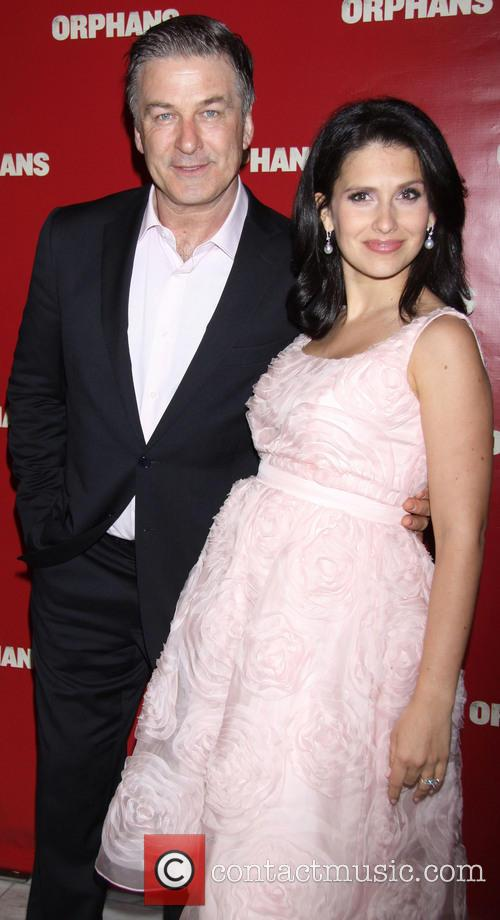 Alec Baldwin and Hilaria Thomas 1
