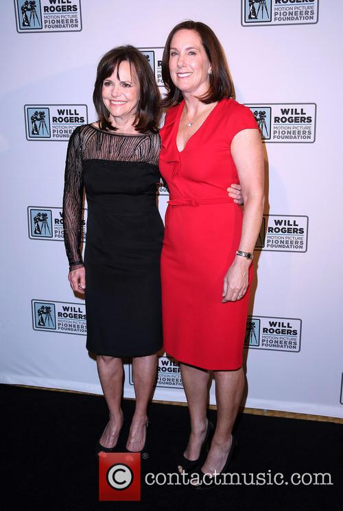 Sally Field and Kathleen Kennedy 5