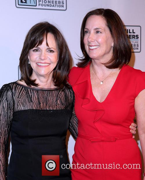 Sally Field and Kathleen Kennedy 6