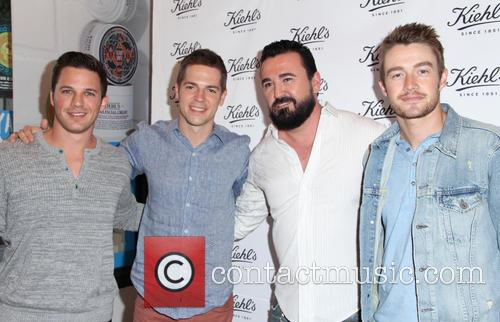 Matt Lanter, Jason Kennedy, Chris Salgardo and Robert Buckley 3