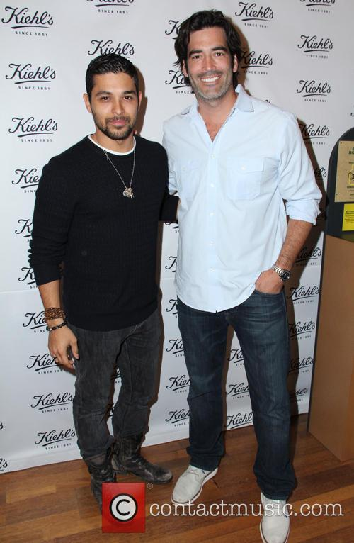 Wilmer Valderrama and Carter Oosterhouse 3