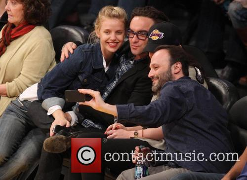 Johnny Galecki and Kelli Garner 3