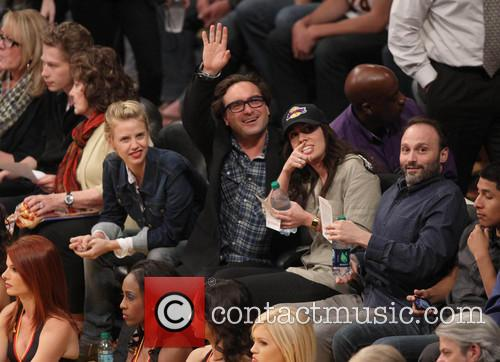 Johnny Galecki and Kelli Garner 5