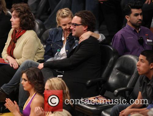 Johnny Galecki and Kelli Garner 7