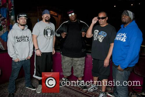 Nico, Mike Muir (vocals), Eric Moore (drums), Dean Pleasants (guitar) and Tim