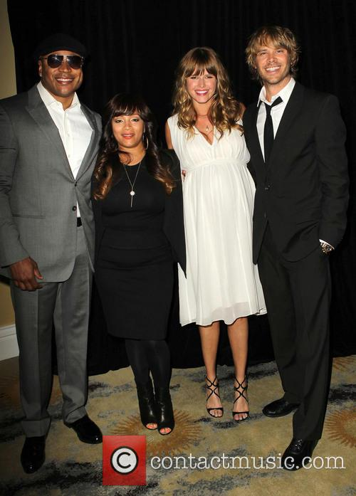 Ll Cool J, Simone Johnson, Sarah Wright and Eric Christian Olsen 3