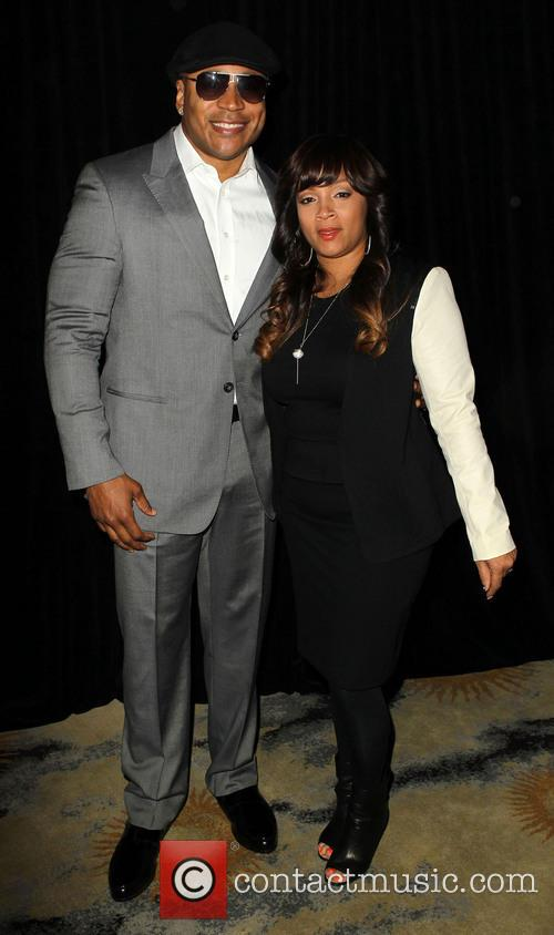 Ll Cool J and Simone Johnson 5