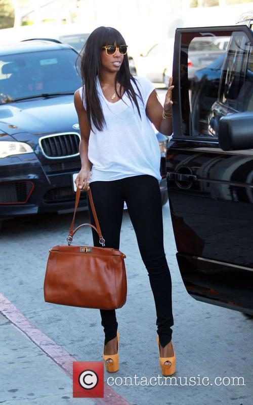 Kelly Rowland out and about in Los Angeles