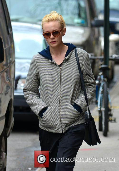 Carey Mulligan shopping in the East Village