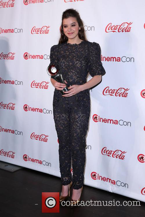 Hailee Steinfeld at CinemaCon Big Screen Achievement Awards
