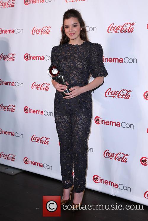 Hailee Steinfeld at CinemaCon Big Screen Achievement Awards