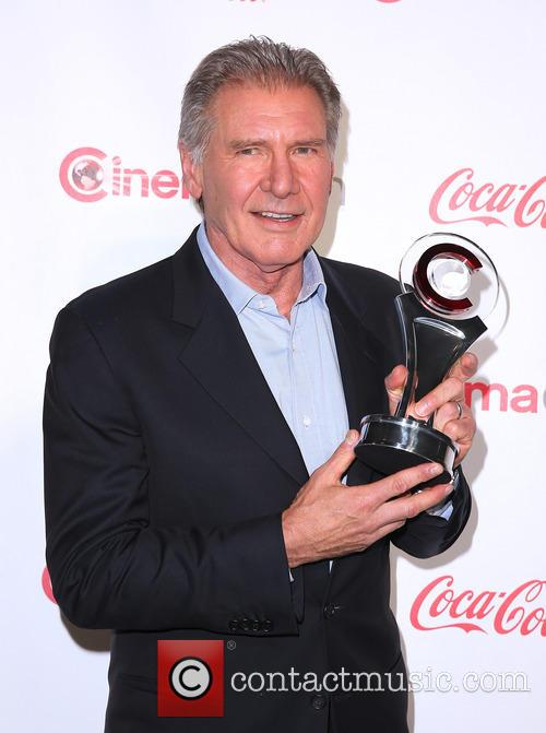 Harrison Ford at CinemaCon Big Screen Achievement Awards