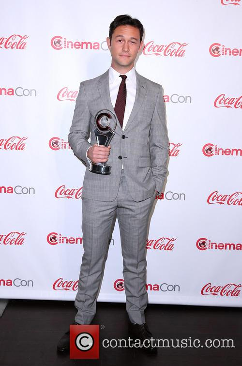 Joseph Gordon-Levitt at CinemaCon Big Screen Achievement Awards