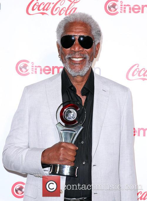 Morgan Freeman at CinemaCon Big Screen Achievement Awards