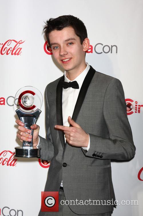 Asa Butterfield at CinemaCon Big Screen Achievement Awards