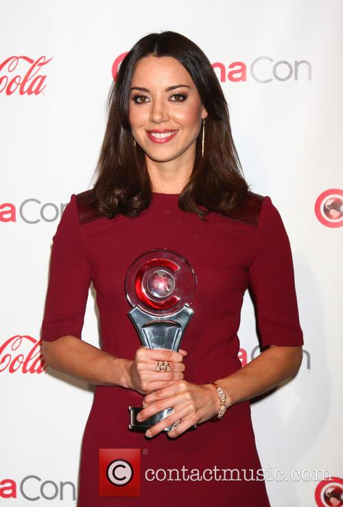 aubrey plaza 2013 cinemacon big screen achievement 3615457