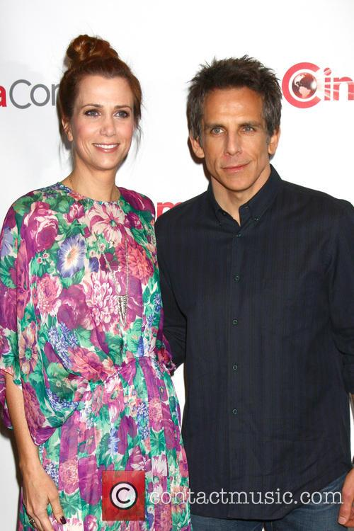 Kristen Wiig and Ben Stiller 7