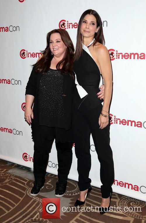 Melissa McCarthy and Sandra Bullock 8