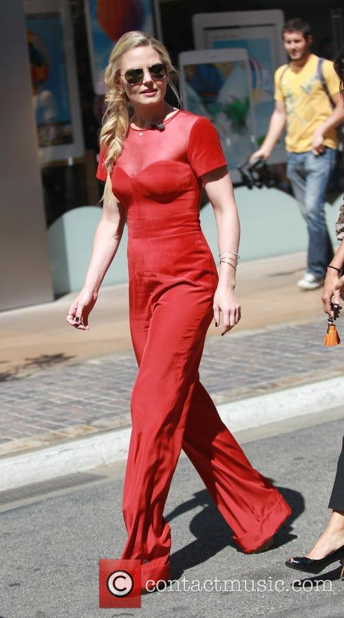 Jennifer Morrison at the Grove for television show...