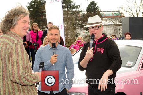 James May, Gary Barlow and Chris Evans 4