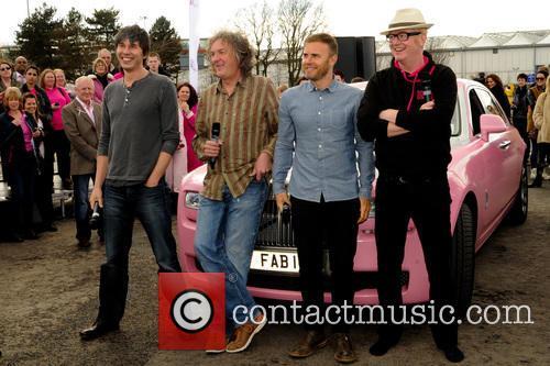 Professor Brian Cox, James May, Gary Barlow and Chris Evans 1