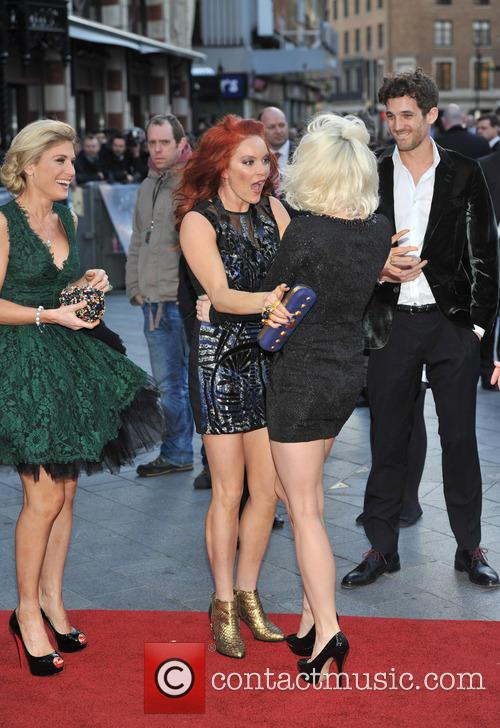 Carmit Bachar, Kimberly Wyatt and Hofit Golan 3