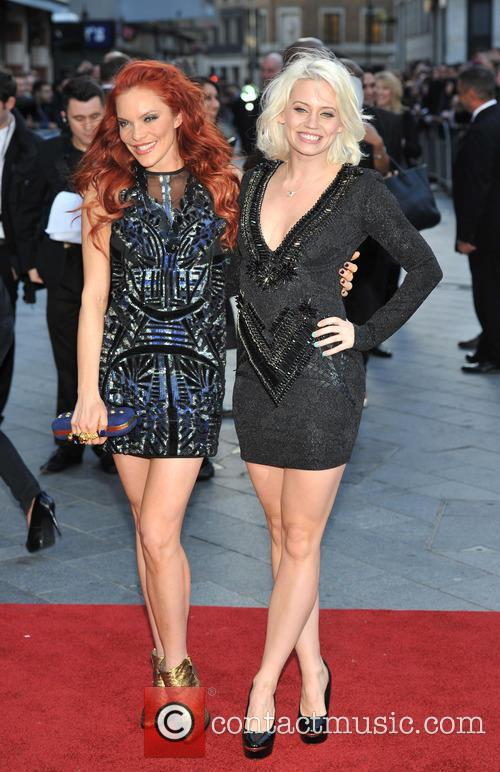 Kimberly Wyatt and Carmit Bachar 6