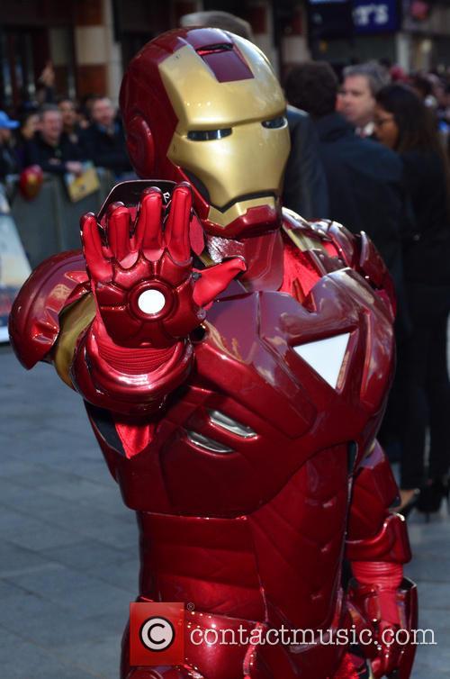 Iron Man at 'Iron Man 3' premiere
