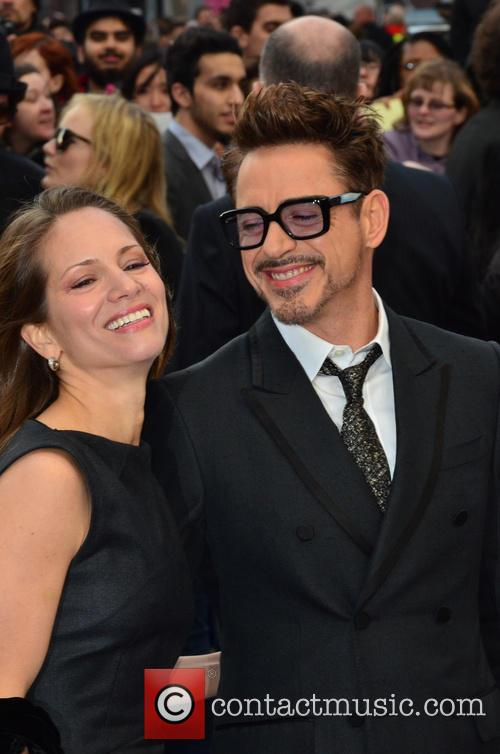 Susan Downey and Robert Downey Jr 1