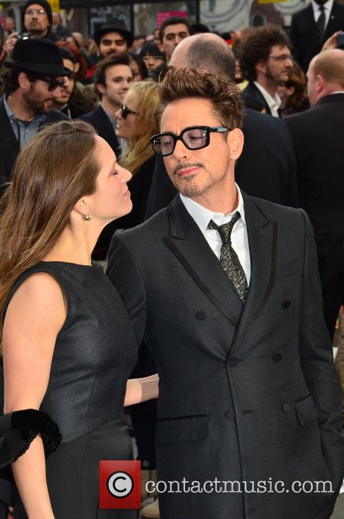 Susan Downey and Robert Downey Jr 4
