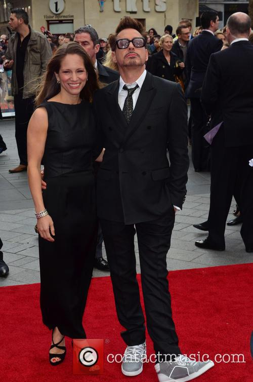 Susan Downey and Robert Downey Jr 5