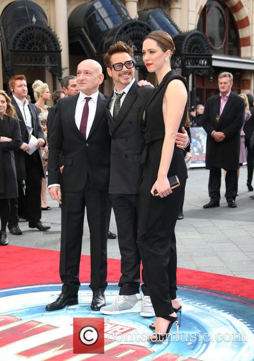 Sir, Ben Kingsley, Robert Downey Jr, Rebecca Hall, Odeon Leicester Square