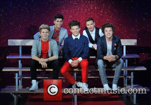 Harry Styles, Zayn Malik, Niall Horan, Louis Tomlinson, Liam Payne and Waxwork 11