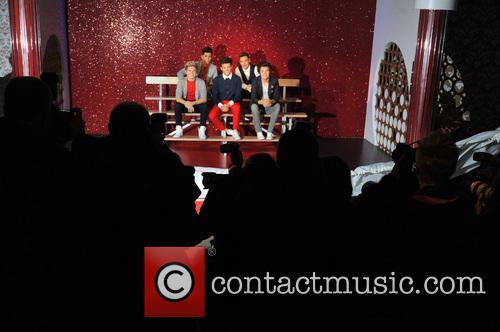 Harry Styles, Zayn Malik, Niall Horan, Louis Tomlinson, Liam Payne and Waxwork 3