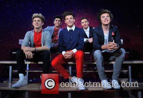 Harry Styles, Zayn Malik, Niall Horan, Louis Tomlinson, Liam Payne and Waxwork 4