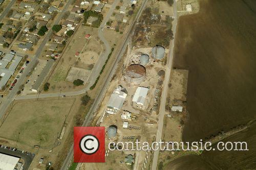 Texan Fertiliser Plant - Aerial views