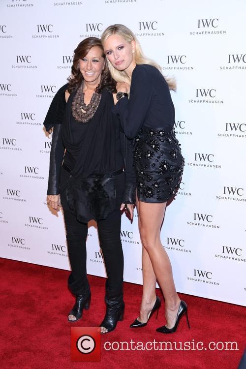Donna Karan and Karolina Kurkova 2