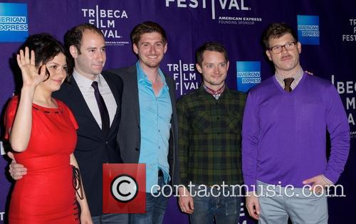 Alia Shawkat, Rafael Marmor, Elijah Wood and David Schlussel 2