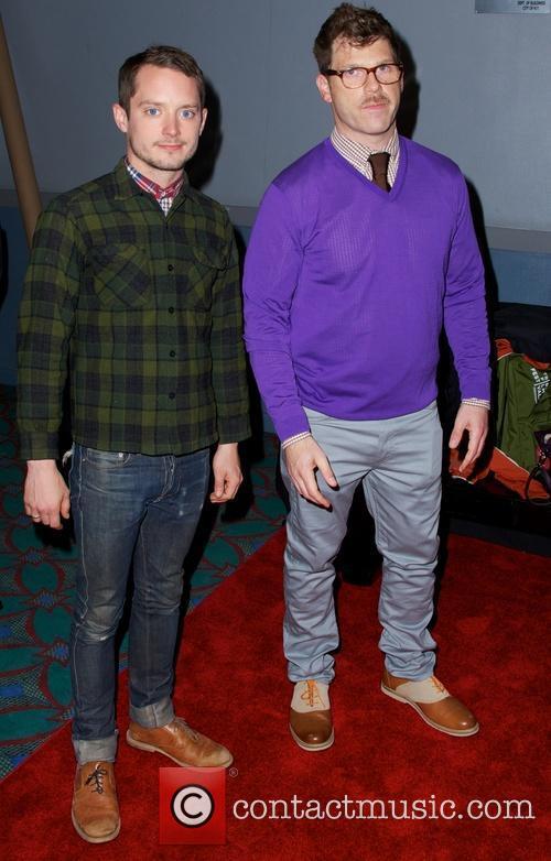 Elijah Wood and David Schlussel 7