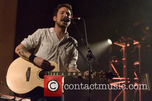 Frank Turner strumming away at the O2 Academy, Glasgow