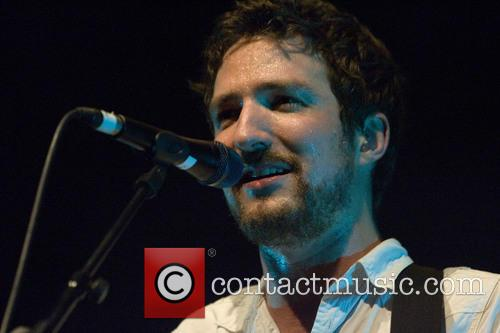 Frank Turner dripping with sweat at his Glasgow O2 show