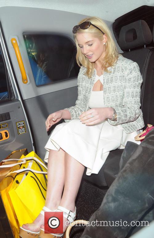 Helen Flanagan Leaving The May Fair Hotel