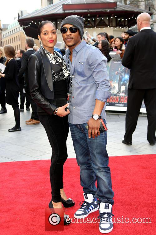 ashley walters natalie williams iron man uk premiere 3614314