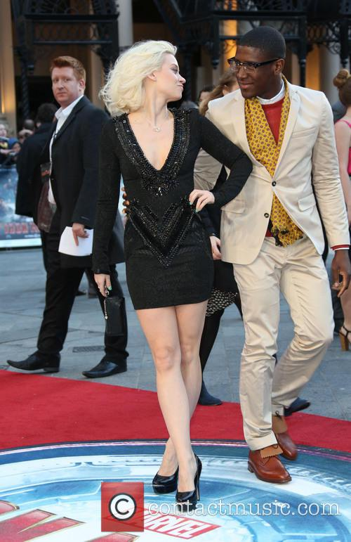 Kimberly Wyatt and Labrinth 11