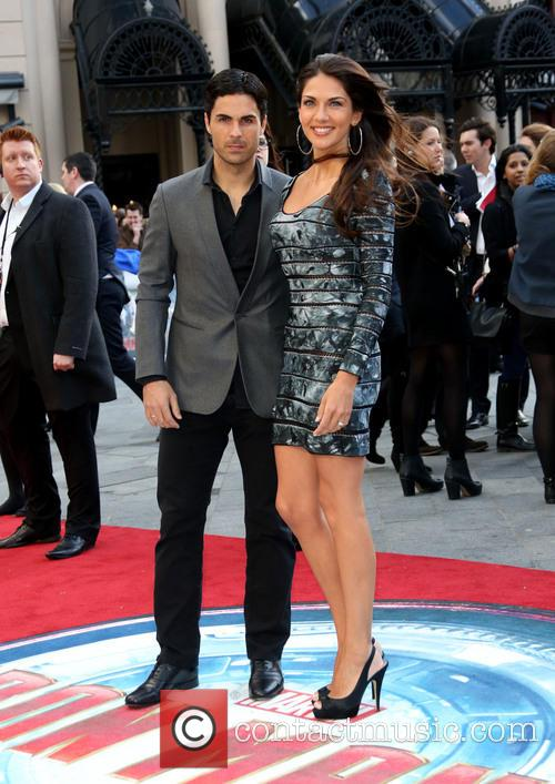 Mikel Arteta and Lorena Bernal 2
