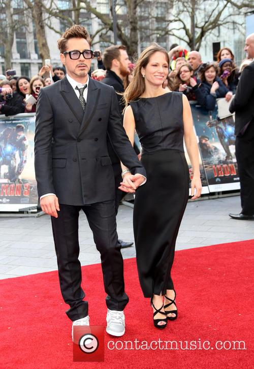 Robert Downey Jr, Susan Downey, Odeon Leicester Square
