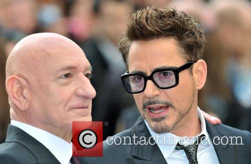 Sir Ben Kingsley and Robert Downey Jr. 11