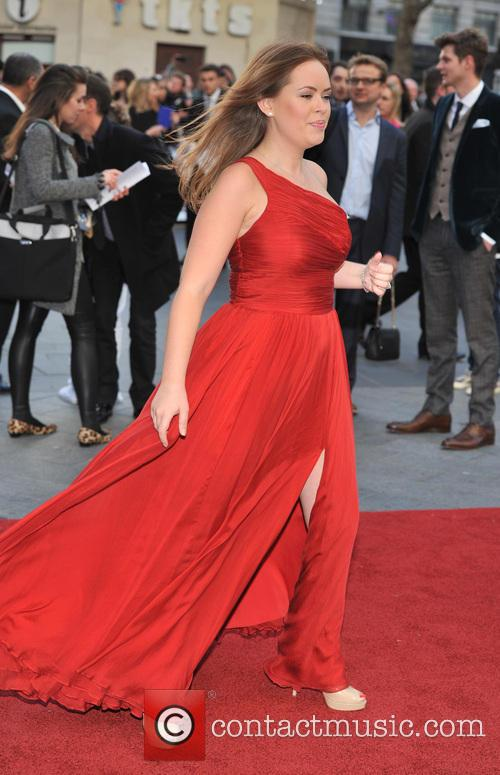 Tanya Burr, Odeon Leicester Square