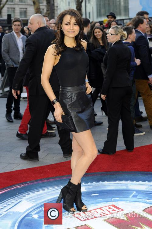 Samantha Barks, Odeon Leicester Square