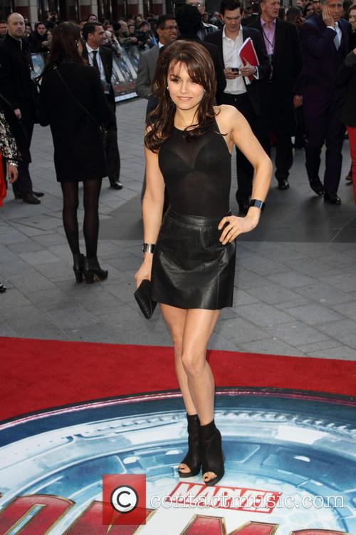 samantha barks iron man 3 uk premiere 3616210